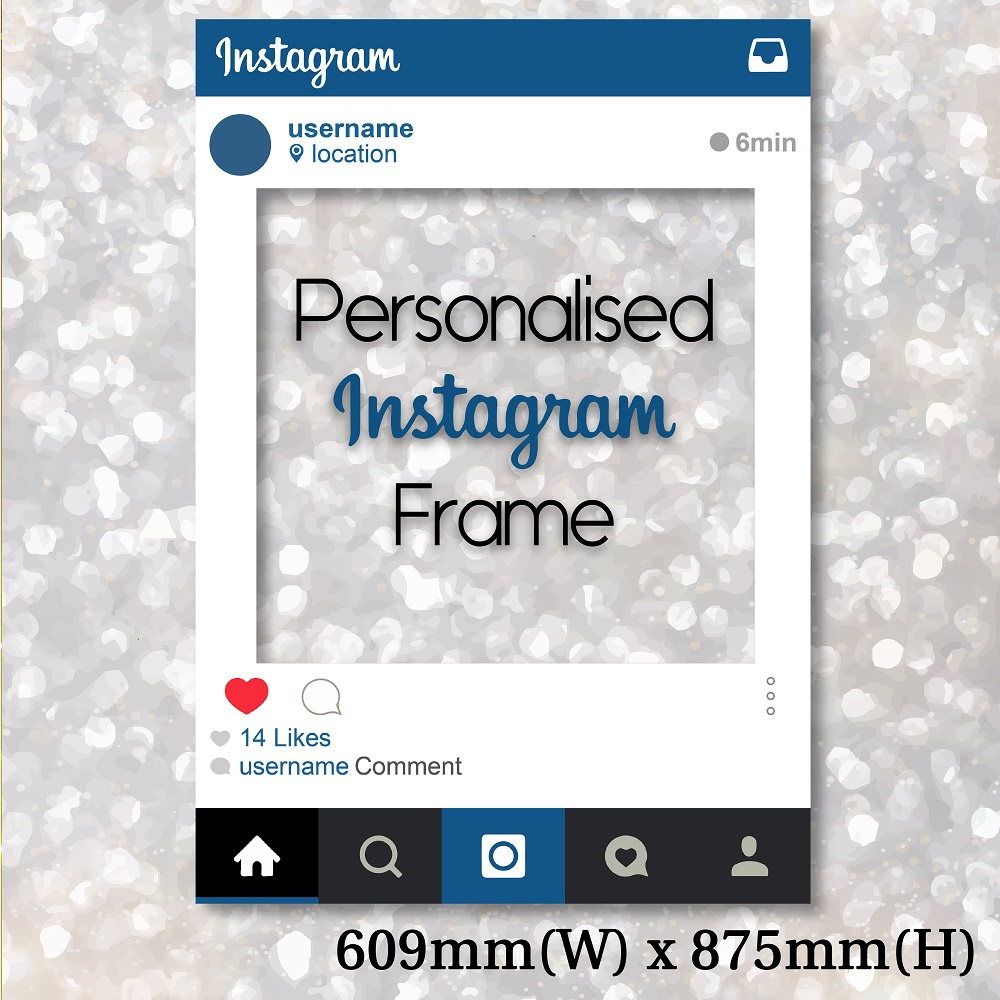 Frame Photo Booth Instagram Frameswallsorg